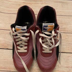 Women's size 7 Kangaroos 🦘 shoes purple & orange